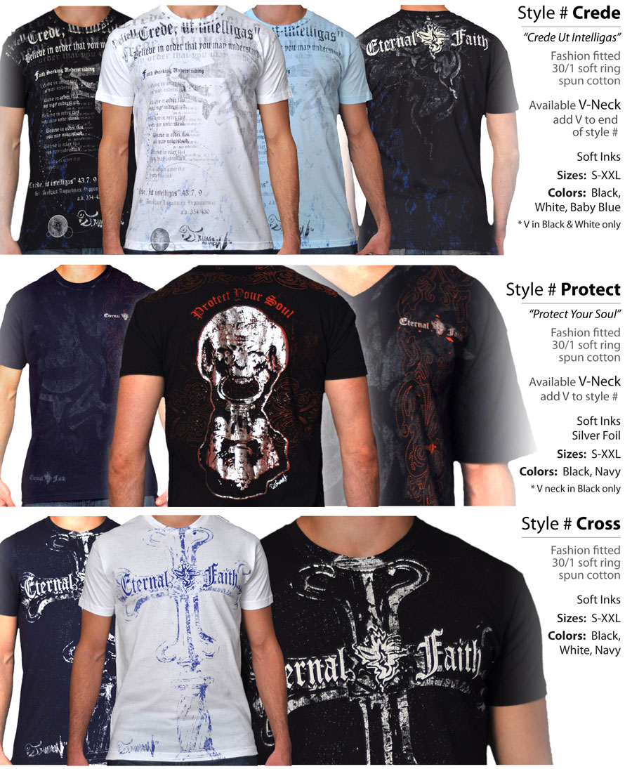 Christian Clothing Designs